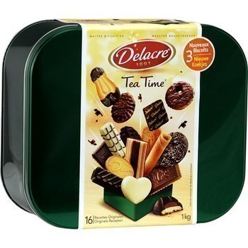 Assortiment de biscuits Tea Time 1 kg - Epicerie Sucrée - Promocash Anglet