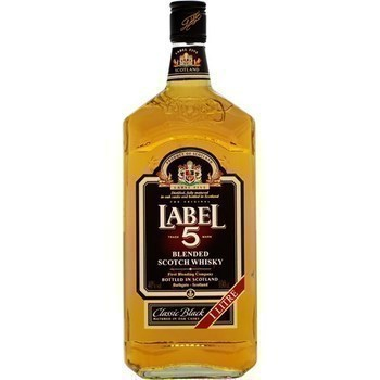 Whisky 5 label 40 % 1 l - Alcools - Promocash Anglet