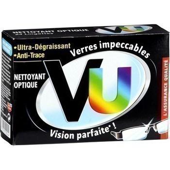 Nettoyant optique en lingettes - Hygiène droguerie parfumerie - Promocash Albi