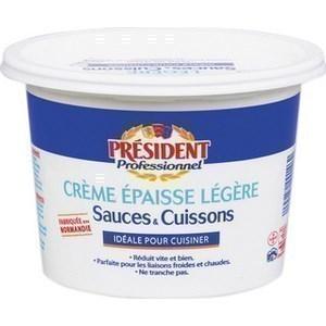 Pot de crème 15% M.G. 1 l - Crèmerie - Promocash Albi