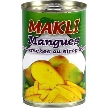 Mangues en tranches au sirop léger 250 g - Epicerie Sucrée - Promocash Amiens