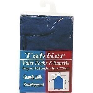 Tablier VALET coton bleu - la pièce - Textile - Promocash Gap