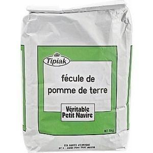 Fécule de pomme de terre PETIT NAVIRE - le sachet 5kg - Epicerie Salée - Promocash Anglet