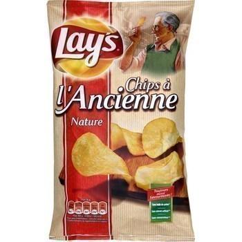Chips à l'ancienne nature 150 g - Epicerie Sucrée - Promocash Albi