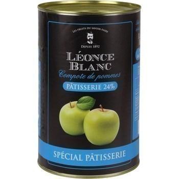 Compote de pommes spécial pâtisserie 24% 4,25 kg - Epicerie Sucrée - Promocash Anglet