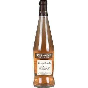 Vin gris du Maroc Cinsault Grenache Boulaouane 12,5° 75 cl - Vins - champagnes - Promocash Le Mans