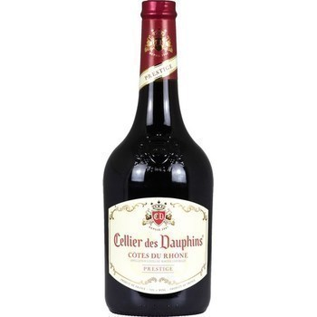 Côtes du Rhône Prestige Cellier des Dauphins 13,5° 75 cl - Vins - champagnes - Promocash Amiens