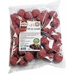 Boulettes de viande halal 1,5 kg - Surgelés - Promocash Gap