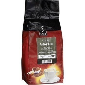 Café moulu Expresso 100% arabica 1 kg - Epicerie Sucrée - Promocash Aurillac