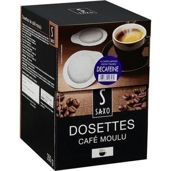 Dosettes de café moulu décaféiné x50 - Epicerie Sucrée - Promocash Promocash Reims