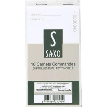 Carnets commandes 50 feuilles dupli petit modèle x10 - Bazar - Promocash Bourgoin
