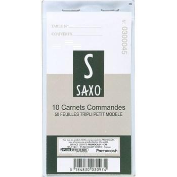 Carnets commandes 50 feuilles tripli petit modèle x10 - Bazar - Promocash Amiens