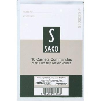 Carnets commandes 50 feuilles tripli grand modèle x10 - Bazar - Promocash Bourgoin