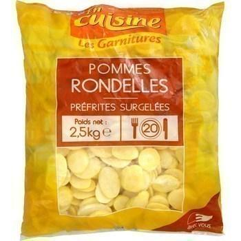 Pommes de terre en rondelles 2,5 kg - Surgelés - Promocash Millau
