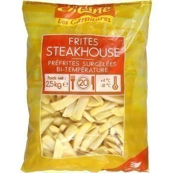 Frites Steakhouse 2,5 kg - Surgelés - Promocash Bourgoin