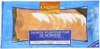Saumon Atlantique fumé de Norvège - Les Entrées - Saurisserie - Promocash Castres