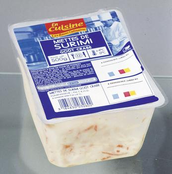 Miettes de surimi 500 g - Saurisserie - Promocash Pamiers