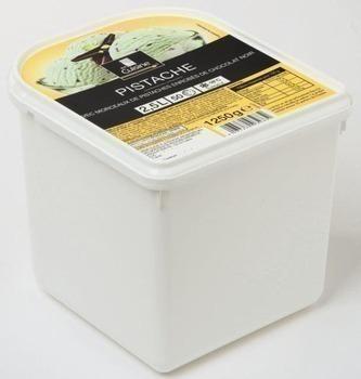 Crème glacée pistache 1250 g - Surgelés - Promocash Castres