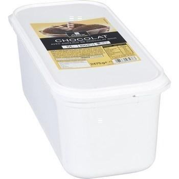 Crème glacée chocolat 2475 g - Surgelés - Promocash Avignon