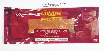 Saumon Atlantique fumé d'Ecosse - Les Entrées - Saurisserie - Promocash Millau