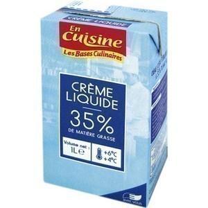 Crème UHT 35% M.G. 1 l - Crèmerie - Promocash Evreux