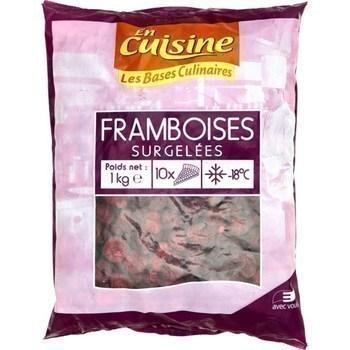 Framboises 1 kg - Surgelés - Promocash Saint Malo