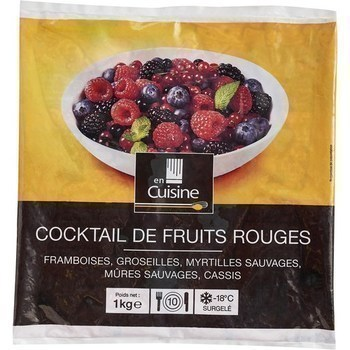 Cocktail de fruits rouges 1 kg - Surgelés - Promocash Bordeaux