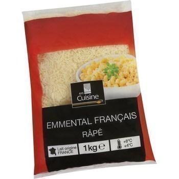 Emmental râpé 1 kg - Crèmerie - Promocash Saint Malo