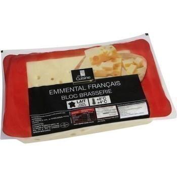 Bloc d'emmental français 3/4 kg - Crèmerie - Promocash Brive