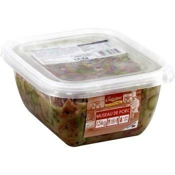 Museau de porc 1,5 kg - Charcuterie Traiteur - Promocash Vendome