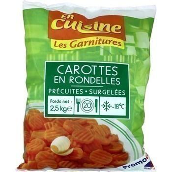 Carottes en rondelles 2,5 kg - Surgelés - Promocash Saint Malo