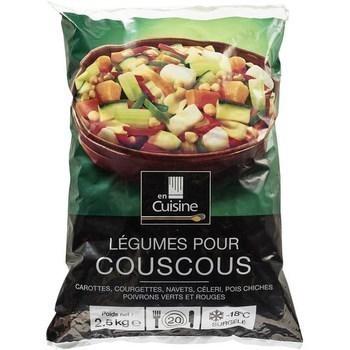 Légumes pour couscous 2,5 kg - Surgelés - Promocash Nantes