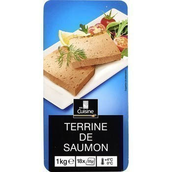 Terrine de saumon - Les Entrées - Saurisserie - Promocash Bourgoin
