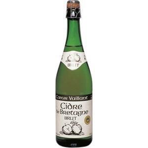 Cidre Brut de Bretagne Coeur Vaillant - le lot de 6 bouteilles de 75 cl. - Brasserie - Promocash Perpignan