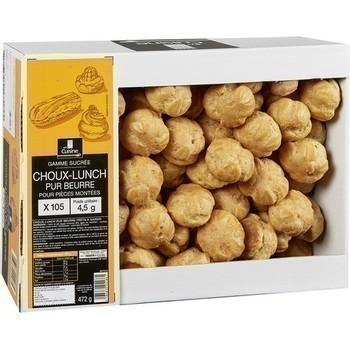 Choux-Lunch pur beurre pour pièces montées x105 - Epicerie Sucrée - Promocash Aurillac