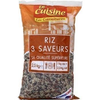 Riz 3 saveurs de qualité supérieure 2,5 kg - Epicerie Salée - Promocash Granville