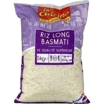 Riz long Basmati de qualité supérieure 5 kg - Epicerie Salée - Promocash Anglet
