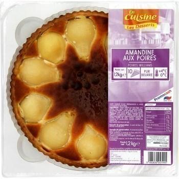 Amandine aux poires 1,2 kg - Charcuterie Traiteur - Promocash Blois
