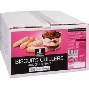 Biscuits cuillers aux oeufs frais x144 - Epicerie Sucrée - Promocash Libourne