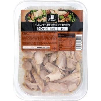 Emincés de poulet rôtis 500 g - Charcuterie Traiteur - Promocash Millau