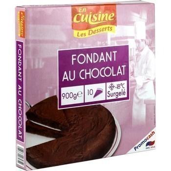Fondant au chocolat 900 g - Surgelés - Promocash Chambéry
