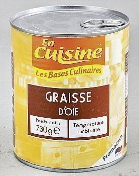Graisse d'oie - Les Bases Culinaires - Epicerie Salée - Promocash Castres