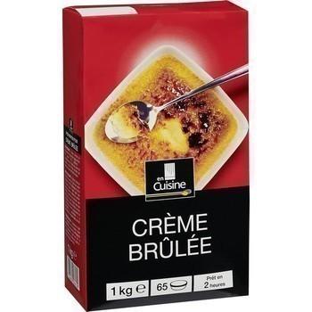 Crème brûlée 1 kg - Epicerie Sucrée - Promocash Bourgoin