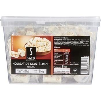 Nougat de Montélimar tendre 1 kg - Epicerie Sucrée - Promocash Reims
