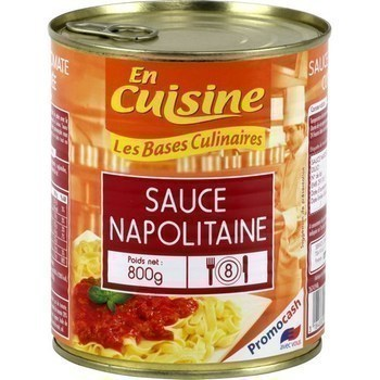 Sauce napolitaine 800 g - Epicerie Salée - Promocash Reims