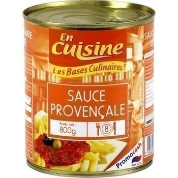 Sauce provençale 800 g - Epicerie Salée - Promocash Amiens
