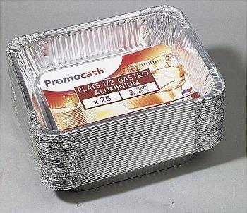 Plats 1/2 gastro aluminium - Bazar - Promocash Amiens