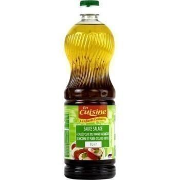 Sauce salade huile d'olive/vinaigre balsamique 1 l - Epicerie Salée - Promocash Albi