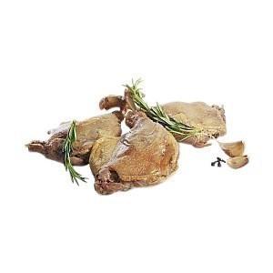 Confit de canard 4 Cuisses  - origine France - sous vide  - 4 pièces - 1 kg - Boucherie - Promocash Saint Dizier
