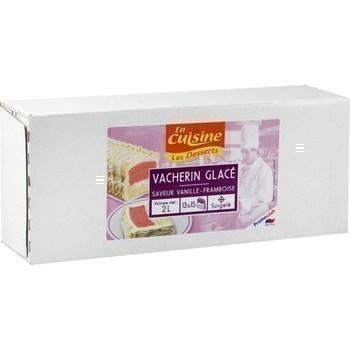 Vacherin glacé saveur vanille framboise 2 l - Surgelés - Promocash Nantes